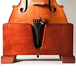 wooden cello stand