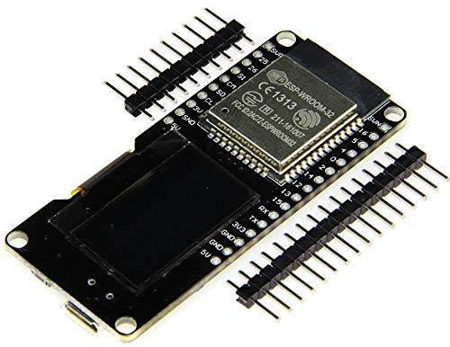 TECNOIOT ESP32 OLED WeMOS Development Board WiFi+Bluetooth ESP-WROOM-32 ESP-32 ESP-32S  ESP32 OLED WeMOS Junta de Desarrollo WiFi + Bluetooth ESP-WROOM-32 ESP-32 ESP-32S