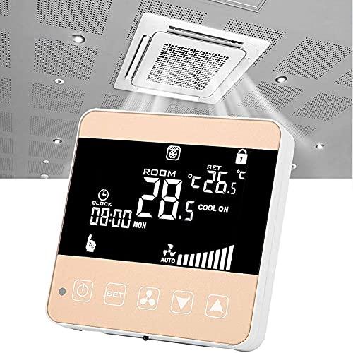 DJG TERMOSTATI Smart per Home, WiFi PROGRAMMABILE TERMOSTATO Smart TERMOSTATORE LCD Controller Temperatura per Riscaldamento dell'Acqua Riscaldamento Aria Condizionata
