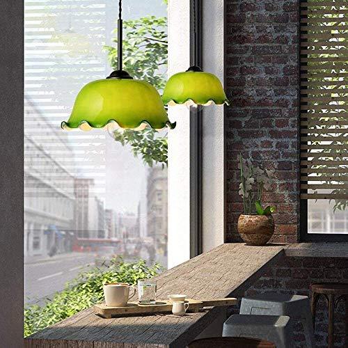 Sfgtryr Hanglamp, vintage, glas, stijlvolle persoonlijkheid, lotuskaarsen, in hoogte verstelbaar, ijzer, voor restaurant, slaapkamer, woonkamer, studio, loft, bar, cafe, club, dsfgtryr
