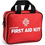 All-Purpose Waterproof First Aid Medical Kit - 148 Pieces- Portable and Compact for Travel, Ideal for Home, Car, Workplace and Outdoor Emergencies
