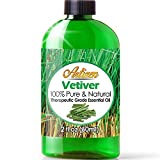 Artizen Vetiver Essential Oil (100% PURE & NATURAL - UNDILUTED) Therapeutic Grade - Huge 1oz Bottle - Perfect for Aromatherapy, Relaxation, Skin Therapy & More!