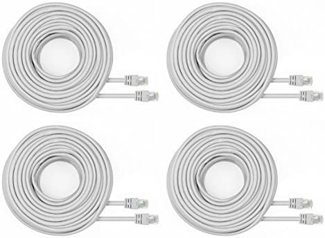 Amcrest Cat5e Cable 60ft Louisville-Jefferson County Mall Ethernet High Internet Speed Netw Max 55% OFF