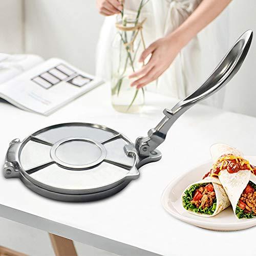 WXX Manual de Acero Inoxidable Pancake Presione el Molde de la Pasta Ajuste el Fabricante filetea alimento de la Cocina