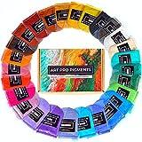 Mica Powder by ART PRO PIGMENTS - Ultimate 27 Color Set - Huge 270g/10g Packs - Perfect for Epoxy Resin, Makeup, Nail Art, Soap, Bath Bomb, Slime - Cosmetic Grade Natural Mica - Brilliant, Non-Toxic bath powder Mar, 2021