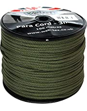 Web-tex - Rollo de cordón Paracord de 3 mm - 100 Metros