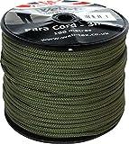 Web-tex - Rollo de cordón Paracord de 3mm - 100 Metros - Verde
