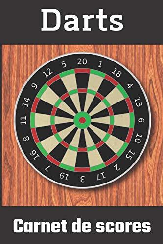 Carnet de score Darts: Carnet de score Darts / fléchettes 501, 301, cricket