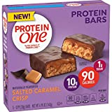 Protein One 90 Calorie Protein bar Salted Caramel Crisp, 5 Count (Pack of 12)