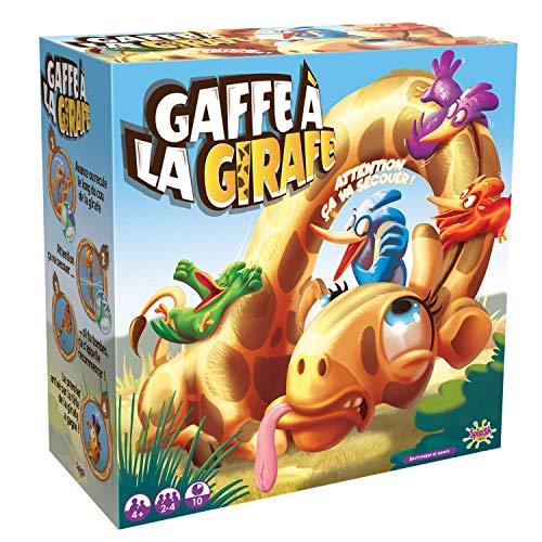 Splash Toys-GAFFE Jeu d'action-Des Petits oiseaux malicieux tentent de grimper Tout en Haut du COU d'une Girafe chatouilleuse, Color Jaune 30125