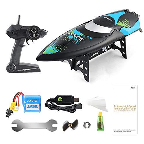 WANXJM 2.4G Ferngesteuertes Hochgeschwindigkeitsboot, wasserdichtes elektrisches Spielzeugmodell, Entwicklung der Intelligenz von Kindern für Kindergeschenke
