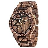[ウィウッド] 腕時計 9818103 正規輸入品 ブラウン