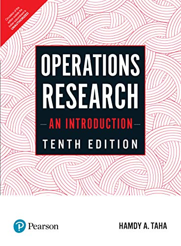 Compare Textbook Prices for Operations Research: An Introduction 10th Edition ISBN 9789352865277 by Hamdy A Taha