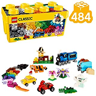 LEGO Classic Scatola Mattoncini Creativi Media per Liberare la Fantasia e Costruire Quello che Desideri, 35 Colori per Realizzare tutte le Tue Idee, per Bambini dai 4 Anni, 10696 (B00NVDP3ZU) | Amazon price tracker / tracking, Amazon price history charts, Amazon price watches, Amazon price drop alerts