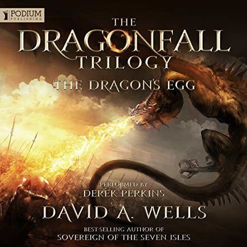 The Dragon's Egg audiobook cover art