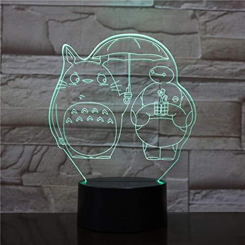 LPHMMD Nacht Licht Unieke Jongens Led Nachtlamp Mijn Buurman Totoro Nachtlampje Kind Slaapkamer Kinderen Verjaardag Gift Led Nachtlampje