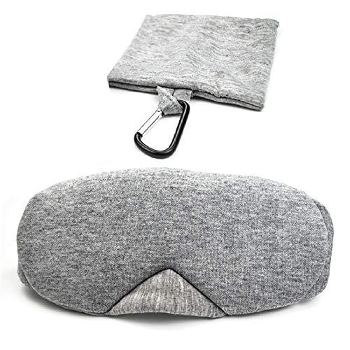 NIUPAN Verstelbaar katoenen slaapmasker reis ontspanning rust slaapschaduw oogmasker ademend oogmasker om de slaap comfortabel en zacht te maken