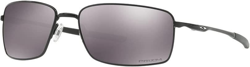 Oakley Men's OO4075 Square Wire Rectangular Metal Sunglasses