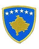 MAREL Aufnäher Flagge Kosovo Aufbügler Patch 6,5 x 5,5-1469