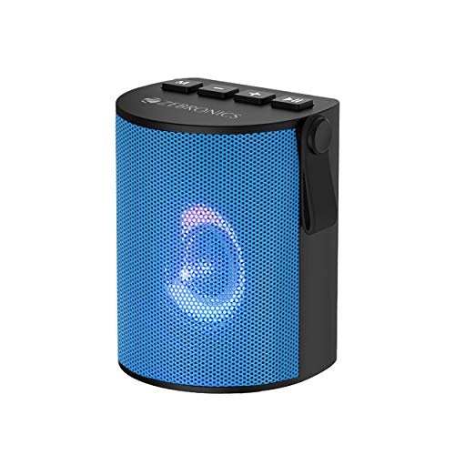 Zebronics Zeb-Bellow Portable Speaker with Bluetooth Supporting, USB, SD Card, AUX, Call Function, Built-in FM