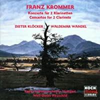Krommer : Double Concertos For 2 Clarinets