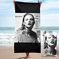 Taylor Swift Taylor テイラー·スウィフトテイラー ビーチタオル バスタオル 速乾性タオル 海水浴 速乾 吸水 軽量 持ち運び便利 旅行用
