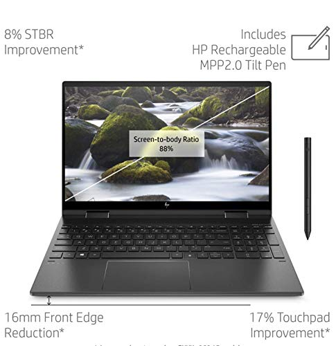Compare HP Envy X360 15 (ee0002na) vs other laptops