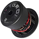 TORO TECH – Force 8, 8 Inch 800 Watts RMS – 1600 Watts MAX – Dual 4 Ohm 2.5 Inch Voice Coil,...