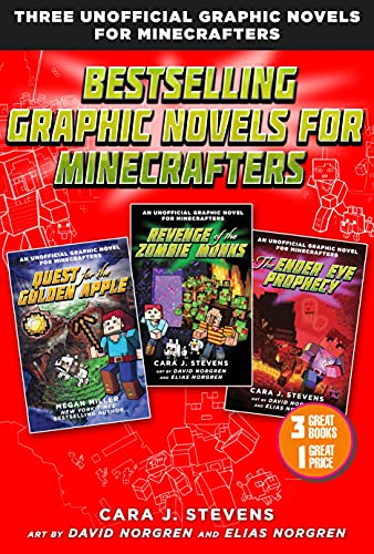 Bestselling Graphic Novels for Minecrafters (Box Set):...