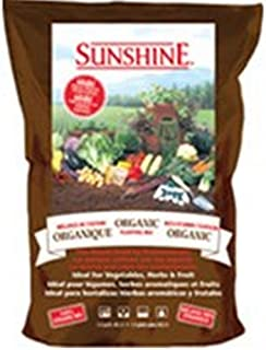 SunGro Horticulture SUGROM1.5 1-1/2-Cubic Feet Sungro Sunshine Organic Mix for Plants