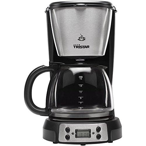 Tristar CM-1248 Koffiezetapparaat, digitale timer-inhoud: 1,5 l, kunststof, roestvrij staal