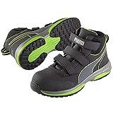 [プーマ] 安全靴 作業靴 ラピッド 26.5cm グリーン 面ファスナー ミッドカット 63.552.0