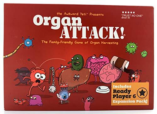 Organ Attack Kartenspiel