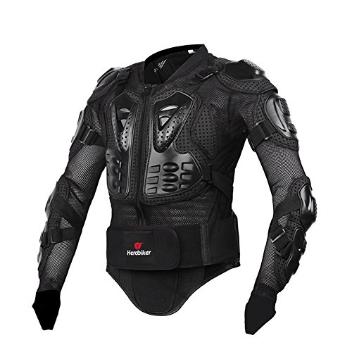Motorrad Schutz Protektoren Motorradjacke Hemd Brustschutz Fallschutz Schutzjacke M-XXXL - 3