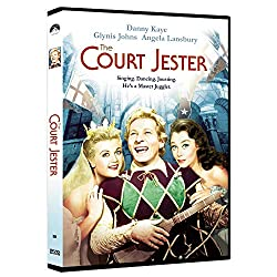 DVD cover of The Court Jester - Danny Kaye, Glynis Johns, Angela Lansbury