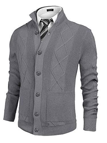 Horse Sweater Cardigan Men's