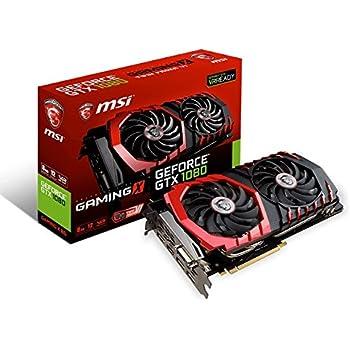 msi gtx 1080 ti gaming x 11g carte graphique - 11 go - gddr5x sdram Amazon.com: MSI Gaming GeForce GTX 1080 8GB GDDR5X SLI DirectX 12