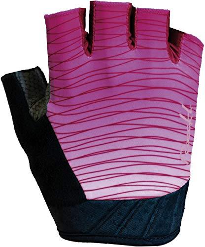 Roeckl Delta 2020 - Guantes Cortos de Ciclismo para Mujer, Color Rosa,...