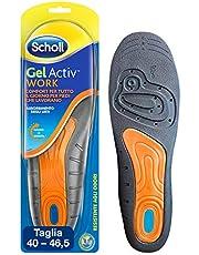 Scholl Gel Activ Work Solette da Lavoro per Uomo , 40-46.5 EU, 1 Paio, Modelli e Colori Assortiti