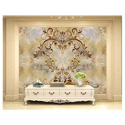 Meaosy Europese Mode Decoratieve Schilderij Verdikking Behang 3D Behang Luxe Klassieke Marmer Koninklijke Achtergrond 450x300cm