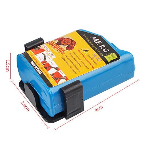 RC Rock Crawler, 1:10 Zubehör Ölfass Kraftstofftank Feuerlöscher Schaufel für Axial SCX10 Tamiya CC01 RC4WD D90 D110 TF2 RC Auto 5 Teile/Satz blau
