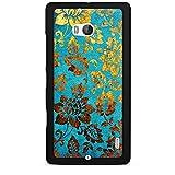 DeinDesign Nokia Lumia 930 Hülle Schutz Hard Case Cover Blumen Muster Gold