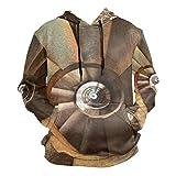 Patrón De Caracol De Turbina De Arte Sudadera con Capucha Hoodies Hombre Mujer 3D Impresión Sweatshirt Sudaderas Pullover para Niñas Niños