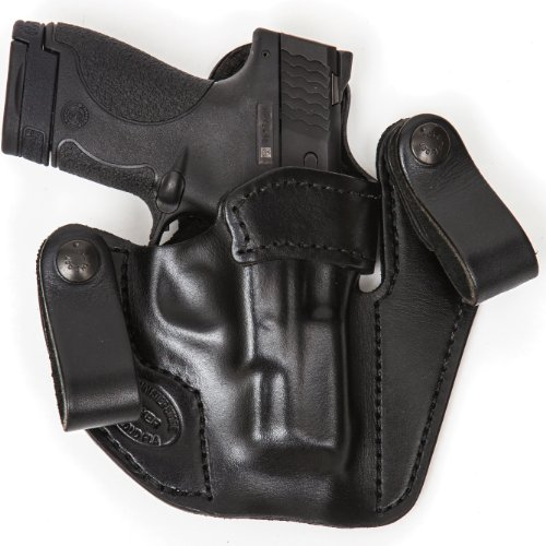 Concealed Carry Leather Gun Holster For Ruger LCR 38 RH Right Hand Black Concealed Carry Xtreme Duty