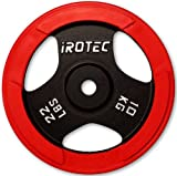 IROTEC(アイロテック) ラバープレート10KG / バーベルプレート