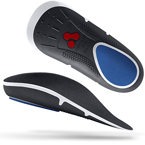 Protalus M75 Max Series– Patented Stress Relief Add-On Premium Shoe Inserts, Increase Comfort, Anti Fatigue, Alignment Improving Shoe Insoles - for Men Size 12-12.5