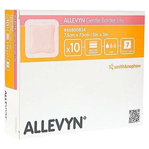 ALLEVYN Gentle Border Lite 7,5x7,5cm Verband 10 St