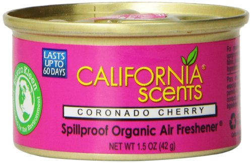 California Scents Spillproof Organic Air Freshener, Apple...