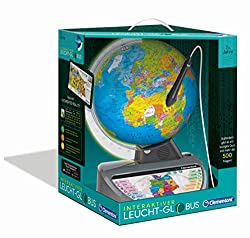 Discover the world playful: the talking and luminous nursery globe brings girls and boys closer the structure of our earth in an exciting and interactive way while promoting technical interest Education of knowledge in the children's room: the decora...