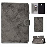 Yhuisen Cloth Texture PU Leather Tablet Stand Smart Case Cover with Auto Sleep/Wake for Samsung Galaxy Tab A 10.5 inch 2018 SM-T590/T595 (Color : Gray)